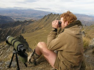 Hunting in Wanaka, New Zealand