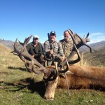 Red Stag Hunting with good guides Telford Hunting NZ Ltd