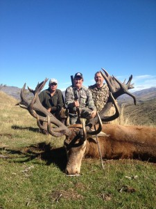 Red Stag Hunting with old & bold guides Telford Hunting NZ Ltd