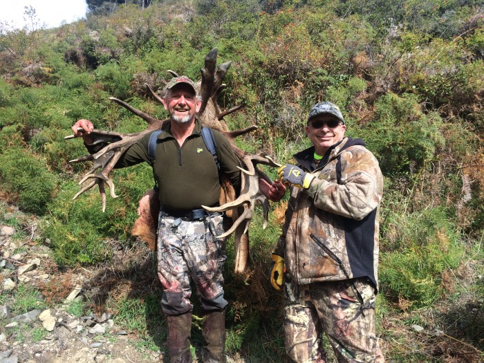 pack out hunt red stag with telford