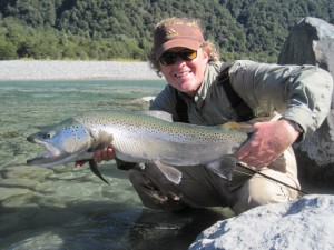 Trout and Salmon Fishing in New Zealand