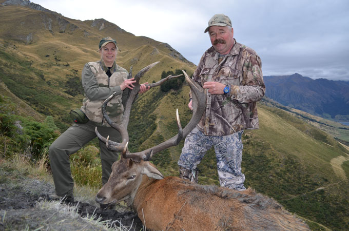 Family Hunts for Deer in New Zealand